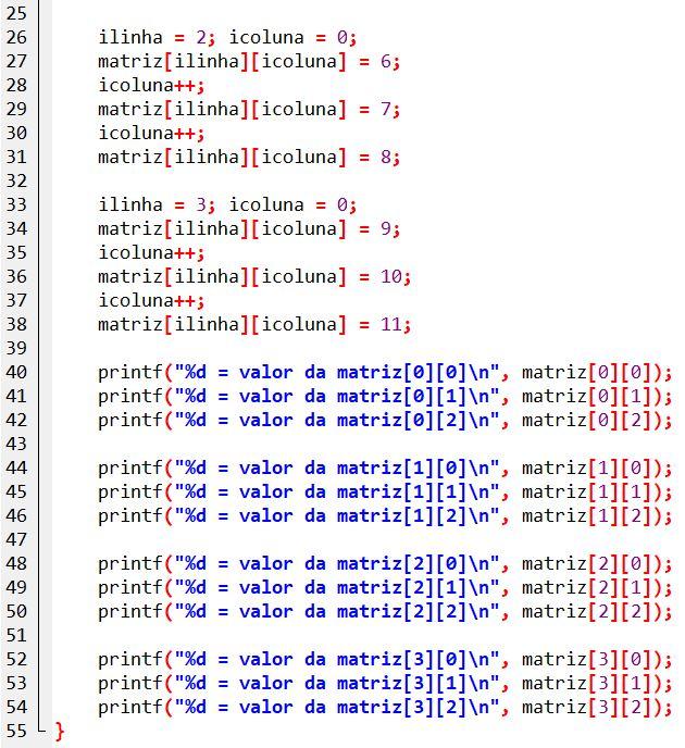 exemplo_matrizBidimencional02_Parte02