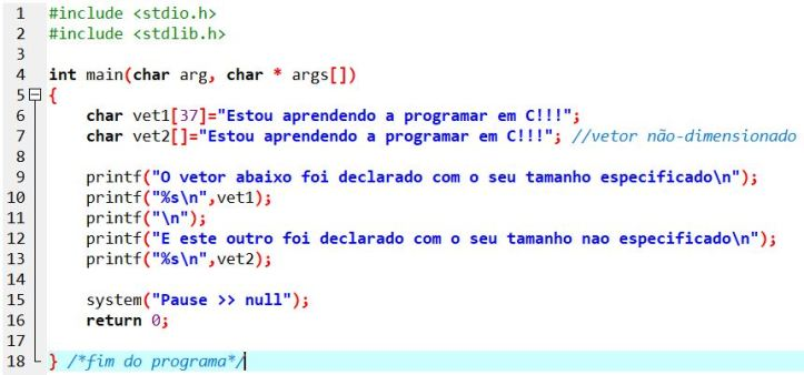 exemplo_matrizNaoDimencionado