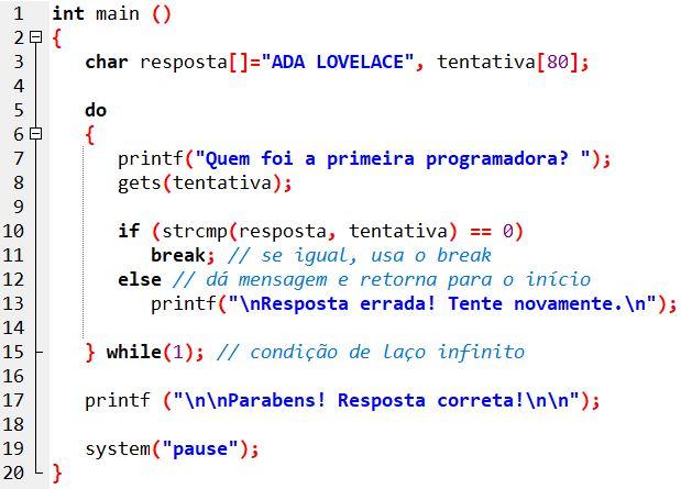 exemplo_strcmp